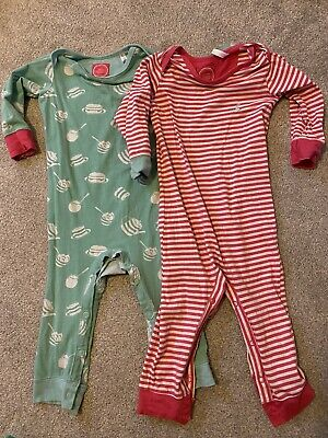 Joules Baby Girls Footless 2x All In One Sleepsuit  9-12 Months