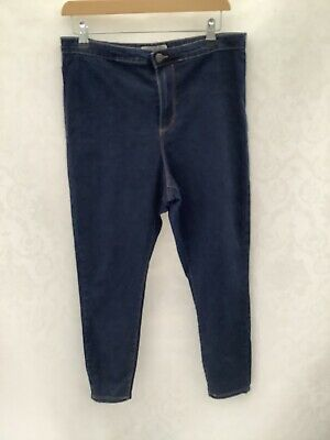 Denim Co, Ladies High Waist Skinny Jeans, Size 16