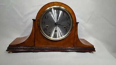 English Working Order Westminster Chime Mantle Clock