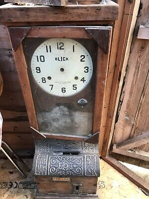 Blick Clocking In Clock In Need Of Restoration