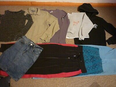 Bundle Girls Clothes age 13-14yrs Zara Topshop Jeans Tops Skirts Hoodie Leggings