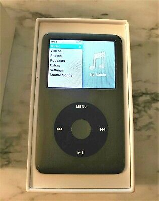 Apple iPod A1238 Classic 7th Gen Black 160GB used works great!