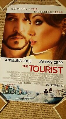 The Tourist Depp Jolie Classic Movie Poster Art Print A0 A1 A2 A3 A4 Maxi