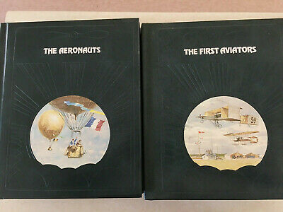 TIME LIFE EPIC OF FLIGHT LOT OF 10 BOOKS inc original inserts collectable series