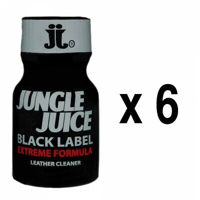 Poppers stimulant libido  Juice Black Label 10mL x6 offre special aphrodisiaque