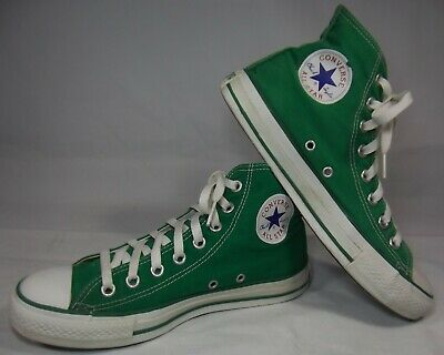 COOL! Converse Chuck Taylor Hi-Top Green All-Star Sneakers/Shoes Mens 7/Womens 9