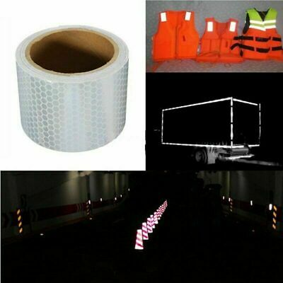 Reflective Tape Safety Stickers Safety Warning Self-Adhesive Reflector Popular#v