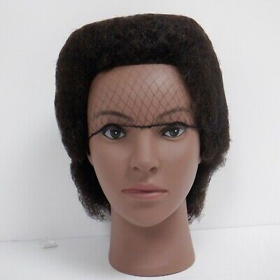 """Afro Training Mannequin Head Cosmetology 10"""" Doll Head with FREE Clamp"""