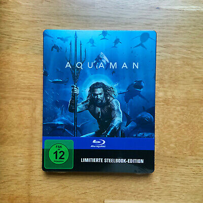 Aquaman - Limited Steelbook Edition - BluRay - OOP - NEU+OVP