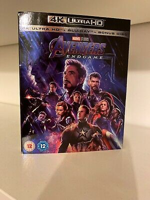 Avengers Endgame - 4K Ultra HD HDR + Blu-Ray - Dolby Atmos Enabled
