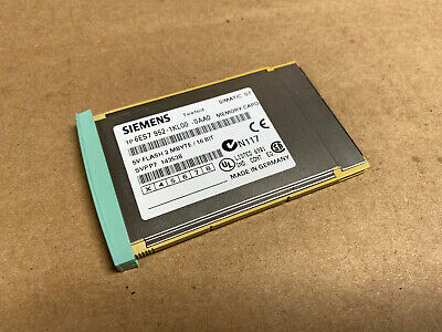 Siemens 6ES7 952-1KL00-0AA0 | Simatic S7 Flash Memory Card - 2MB FAST SHIPPING