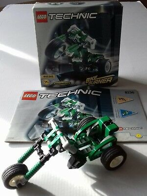 Lego 8236 - Technic Bike Burner - complete with box & instructions.