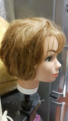 Hairdressers Trainee Mannequin Head With 3 Stands L👀k
