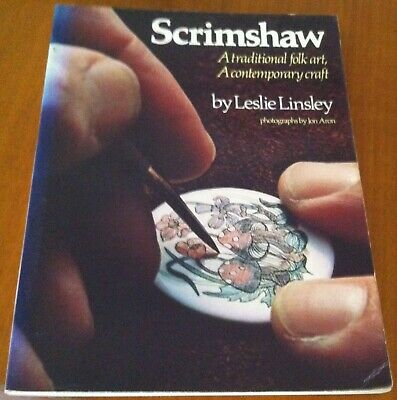 Scrimshaw by Leslie Linsley. A traditional folk art. A contemporary craft