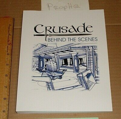 Babylon 5 TV Crusade Behind the Scenes Softcover Book 9 by 7 Inches 360 Pages