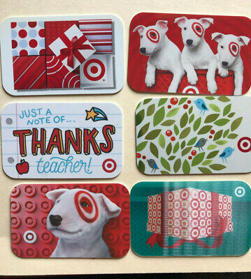 Collectible Target  Gift Card Baby Bullseye in Pool DIECUT Mint #790-01-2706