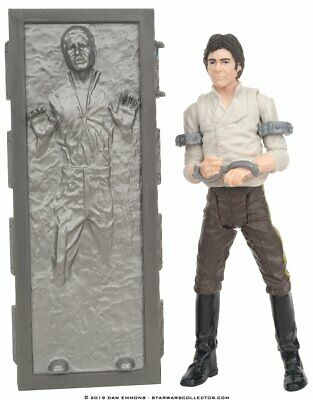 Han Solo Carbonite Jabba Palace Playset Figure VINTAGE Collection Star War LOOSE