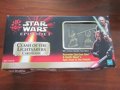 Star Wars Episode 1 Clash of the Lightsabers Card Game
