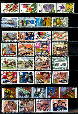 29 Cent 118 Stamps US Lot 1991-1994 Used