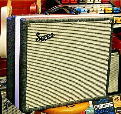 2020 Supro 1696RT Black Magick Reverb Tube Combo NAMM Show Display Jimmy Page!!!