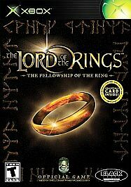 Lord of the Rings: The Fellowship of the Ring (Microsoft Xbox) Complete!