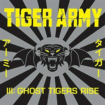 DAMAGED ARTWORK CD Tiger Army: Tiger Army III: Ghost Tigers Rise
