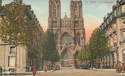 Cp Reims Cathedrale - B 39925