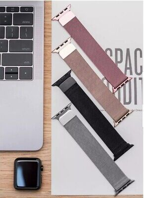 Apple Watch iWatch Band Milanese Magnetic Stainless Steel Strap Series 1 2 3 4 5