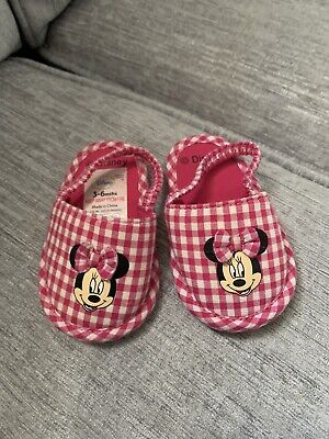 Girls 3-6 Months Shoes Minnie Mouse Disney Sandals Pink Summer Holiday