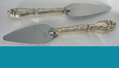 Sterling silver CHEESE SERVER by F Whiting LILY aka FLORAL pattern 1910y no mono