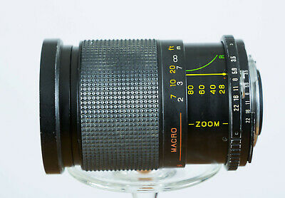Promaster Spectrum 7 28-80mm F3.5-4.5 Wide Angle Zoom Lens for Nikon AI/F Mount