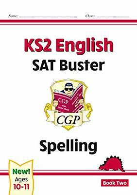 New KS2 English SAT Buster: Spelling - Book 2 f by CGP Books New Paperback Book