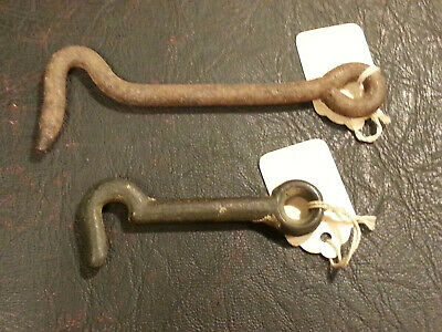 (2) Vintage Iron Gate/Door Latches Ship Free