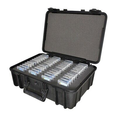 Graded Coin Storage Box Carrying Case w/ Precut Foam for 48 PCGS NGC ANACS Slabs