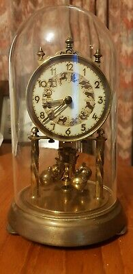 HermleAntique clock glass dome Zodiac Display for spair and repairs!