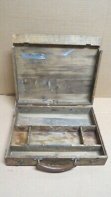 Vintage Deray No.12  Artist Sketch Paint Box Wooden