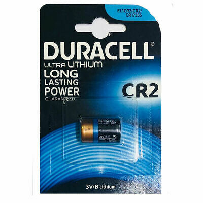 Duracell Ultra Lithium M3A 3V/B Long Lasting CR2 Battery Idle for Camera & SLR