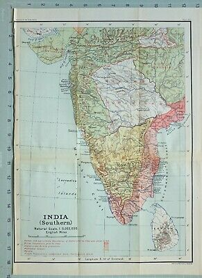 Map/Battle Plan India Southern ~ British Possessions Protection Mysore Nizams