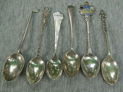 6 Silver Spoons