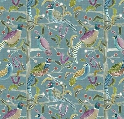 New VOYAGE-LOSSIE Birds Digital Print Cotton Fabric,Upholstery//Curtains//Cushions