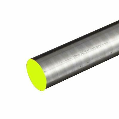 316 Rough Turned Stainless Steel Round Rod, 5.000 (5 inch) x 3 inches