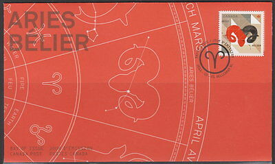 Canada #2449 Signs Of The Zodiac Aries First Day Cover