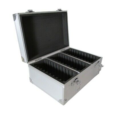 Graded Coin Storage Box Aluminum Display Travel Case for 30 PCGS NGC ANACS Slabs