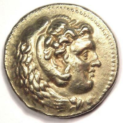 Alexander the Great III AR Tetradrachm Coin 336-323 BC - XF (Extremely Fine)
