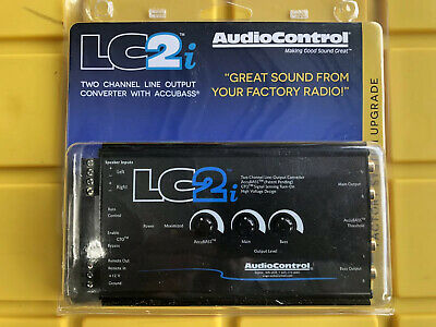 AudioControl LC2i Two Channel Line Output Converter With Accubass