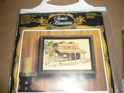 """General Store"" - Crewel Embroidery Kit"