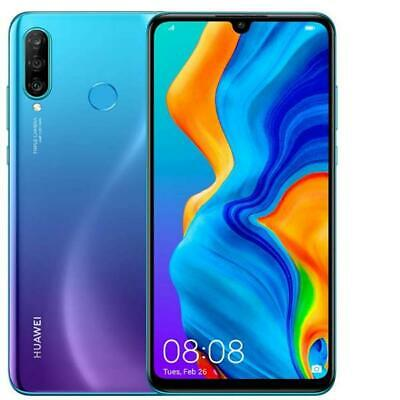 Huawei P30 Lite 2020 New Edition Peacock Blue 256 Gb Rom 6 Gb Ram Display 6,15""