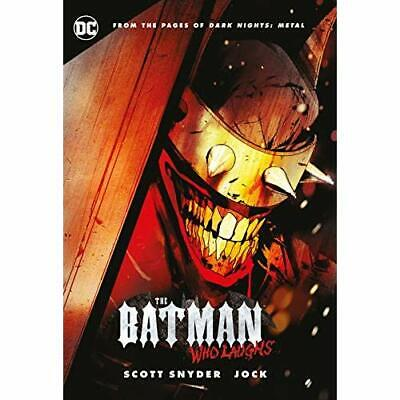 The Batman Who Laughs - Hardcover NEW Snyder, Scott 09/03/2019