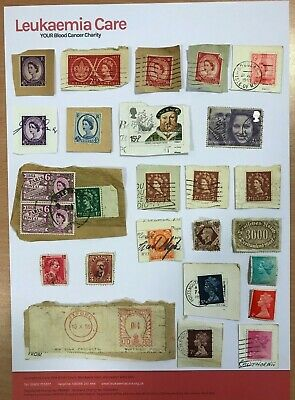 Assorted old and vintage used stamps - GB & worldwide - listed individually