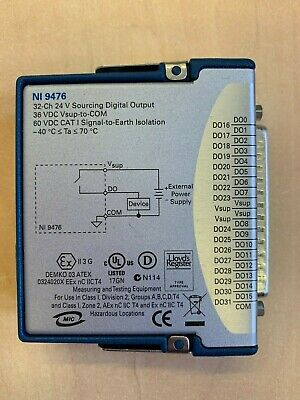 National Instruments NI 9476 32 channel 24V Digital Output Module Compact Rio